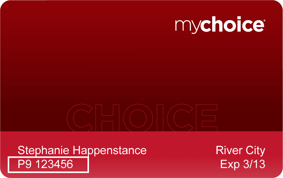 MyChoice Rewards Card